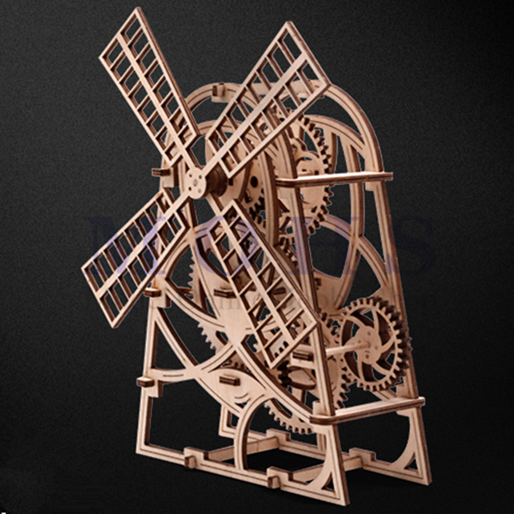 Romantic Toys Gifts for Adults Teens Boys and Girls 3D Wooden Puzzle Assembly Craft Kits Perpetual Calendar Calendar Mechanical Transmission Model