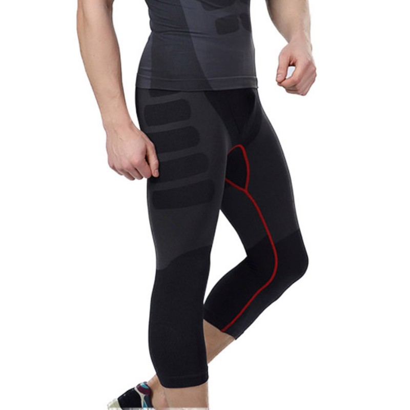 2017 Men Quick-Dry Athletic Short Pants Compression Train Base Layers Skin Sports Running Tights Outdoor