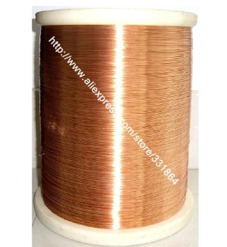 Nouveau 0.6mm * 100m / pcs QA-1-155 2UEW Fil émaillé en polyuréthane Fil de cuivre émaillé Câble de réparation Livraison gratuite