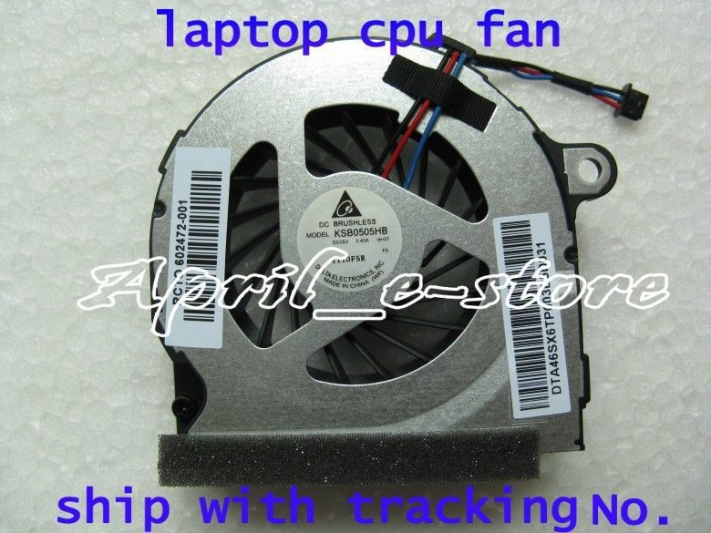 New for HP probook 4320S 4321S 4326S 4420S 4421S CPU Fan 602472-001 free paste ,Free shipping ! !