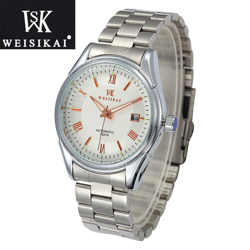 zegarki meskie High Quality date Men Watches Top Brand Luxury Business Waterproof women Watch Automatic Mechanical clock montres new business watches men top quality automatic men watch factory shop free shipping wrg8053m4t2