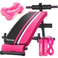 Ménage pliable abdominale exerciseur banc pour femmes Mousse Grip Mousse appui-tête 5 réglable vitesse LCD affichage Poids charge 300 kg