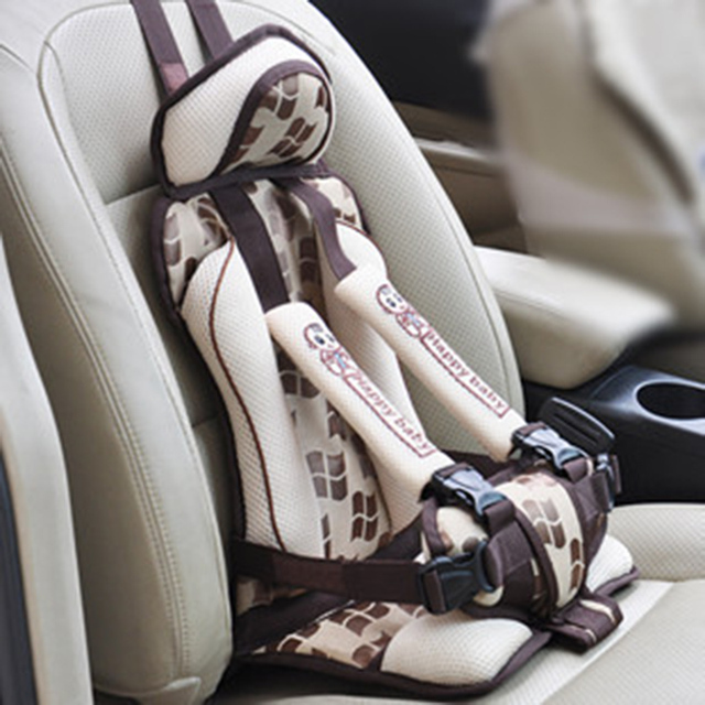 Portable Child Car Seat Protector Thickening Cotton Adjustable Children Car Seat Infant Car Seats Child Seat Cushion for Auto