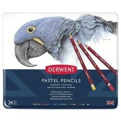 Derwent Pastell bleistifte 24 farbe & 36 farben & 72 farben mit eisen box