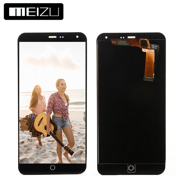 """Для Meizu M1 Note Дисплей Испытано гарантия 5.5 """"1920x1080 Для Meizu M1 Note ЖК-дисплей Дисплей Сенсорный экран планшета сборки"""
