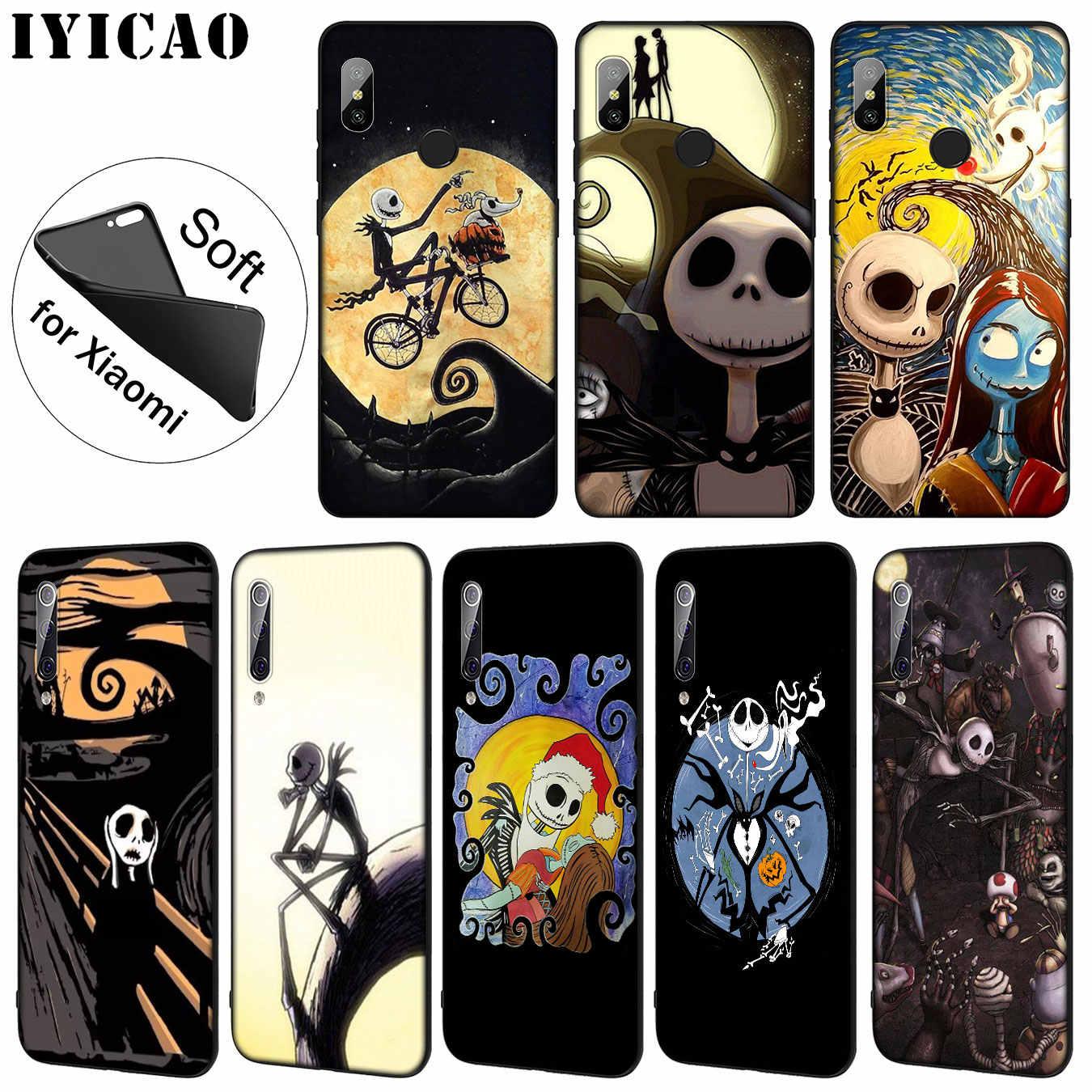 Мягкий чехол для телефона IYICAO nightbe Tim burton на Хэллоуин для Xiaomi Mi 9 SE 9T CC9 CC9E 8 A3 Pro A1 A2 Lite pocophone f1 MAX 3