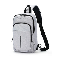 New Hot-Summer Shoulder Bag Crossbody Bags Men Chest Pack for Short Trip Messengers