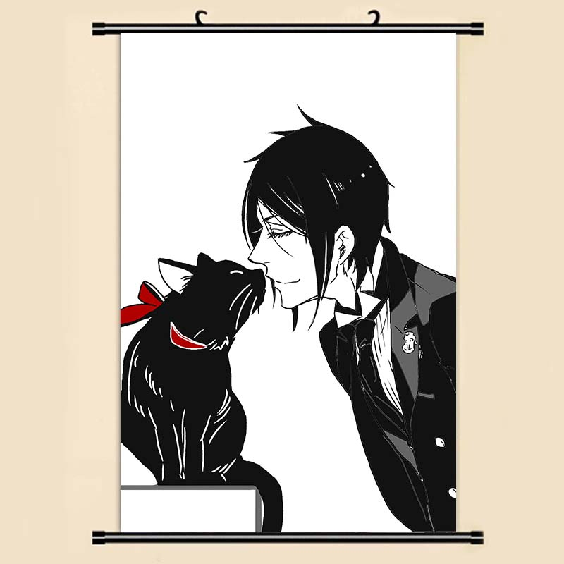 Us 379 5 Offanime Manga Kuroshitsuji Black Butler Ciel Wall Scroll Painting 40x60 Picture Wallpaper Stickers Poster 001 In Painting Calligraphy