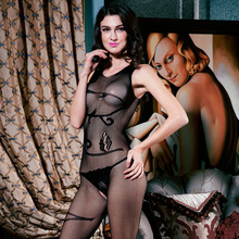 Women hot Sexy lingerie Fishnet Open crotch Body stocking erotic underwear fishnet bodystockings Bodysuit sexy body