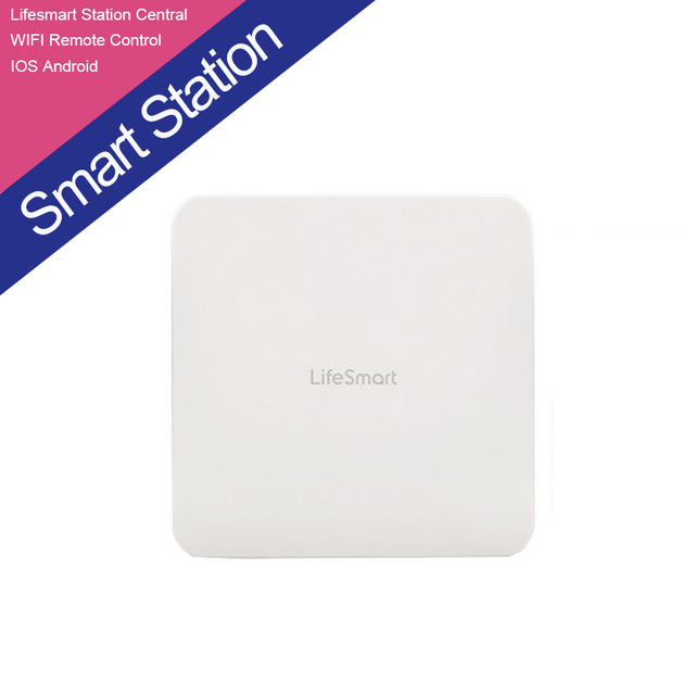 Lifesmart top brand 433 MHz Sistema Domótico Inteligente Inalámbrica WIFI Remoto A TRAVÉS de IOS Android Estación Inteligente Smart Center