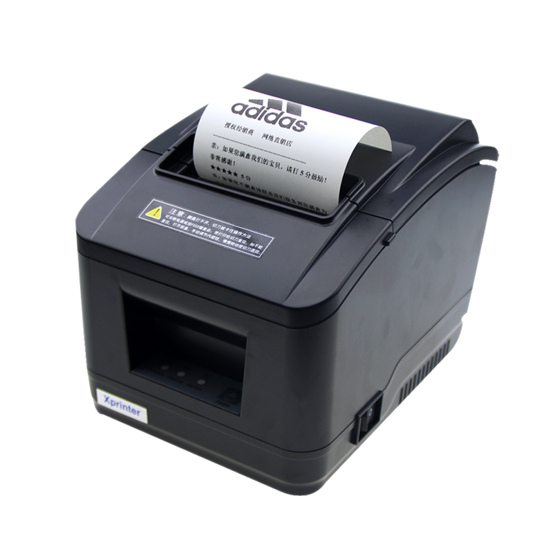 2016 new  wholesale brand new High quality pos printer 80mm thermal receipt Small ticket barcode printer automatic cutting wholesale brand new 80mm receipt pos printer high quality thermal bill printer automatic cutter usb network port print fast