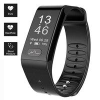 Sports Fitness Tracker Smart Bracelet T6 Heart Rate Monitor ECG Blood Pressure Fitness Band Pulse Wrist