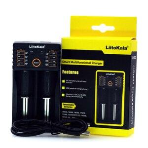 Image 4 - Liitokala Lii PD4 S1 LCD Batterie Ladegerät, lade 18650 3,7 V 18350 18500 21700 20700B 10440 26650 1,2 V AA AAA NiMH Batterie