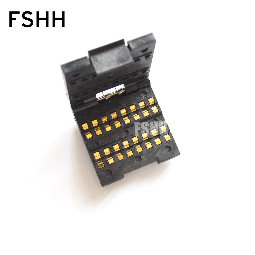 FSHH 1210 Test Socket Chip Capacitors Test Seat SMD Capacitor Socket (16 Work Stations)