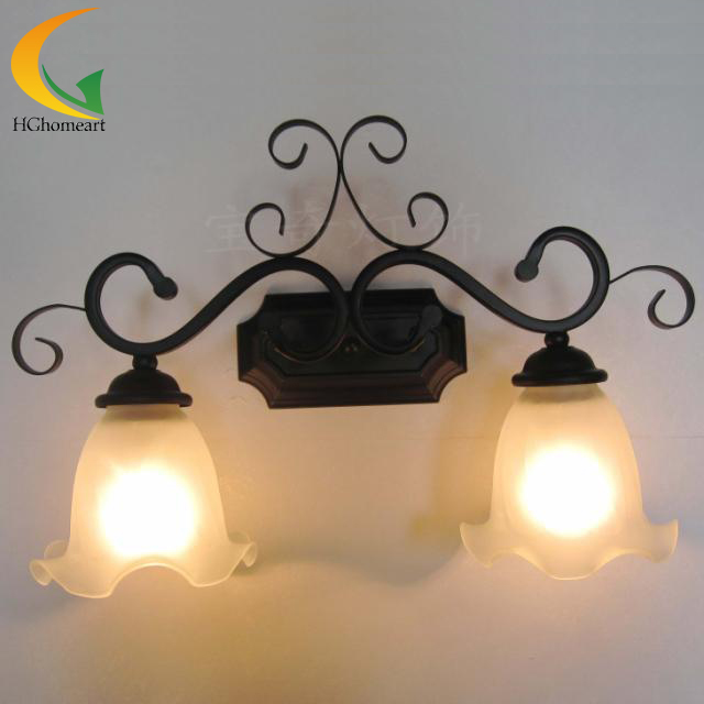 mirror front lamps bathroom vanity lights minimalist modern living room bedroom bedside lamp lighting retro lamp fashion stud wall lamp living room dining modern minimalist mirror front lamps bedroom bedside inn hotel clubs decorative lights