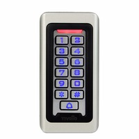 TIVDIO Rfid Door Access Control System Waterproof Metal Keypad 125KHz Proximity Card Standalone Access Control With