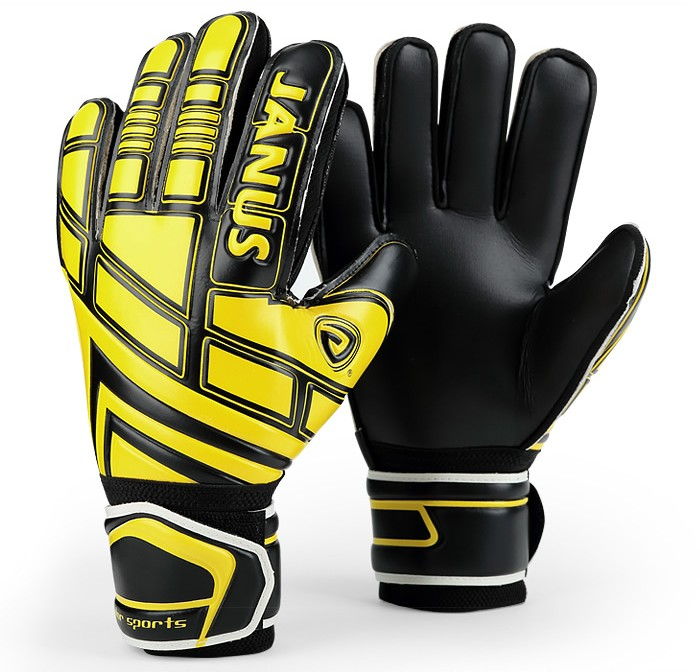 JANUS Adult Children Professional Soccer Goalie Gloves Football Goalkeeper Finger Protection Gloves Goal Keepers Training Gloves
