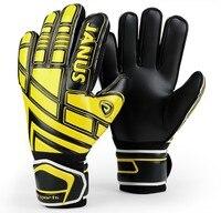 JANUS Adult Children Professional Soccer Goalie gloves Football goalkeeper finger Protection gloves Goal keepers training Gloves