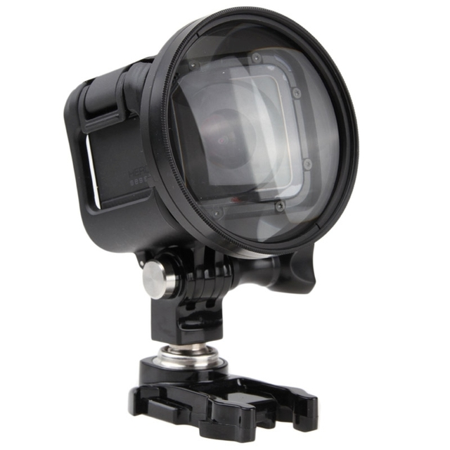 Go Pro Accessories 58mm 10X Close-Up Lens Macro Lens Filter for GoPro HERO4 Session
