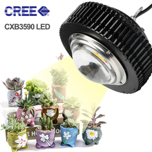 COB LED Grow Light  CXB3590 CXB3070 100W 3500K Growing Lamp Fitolampy For Plant Indoor Full Spectrum LED Fitolamp Growth Lights