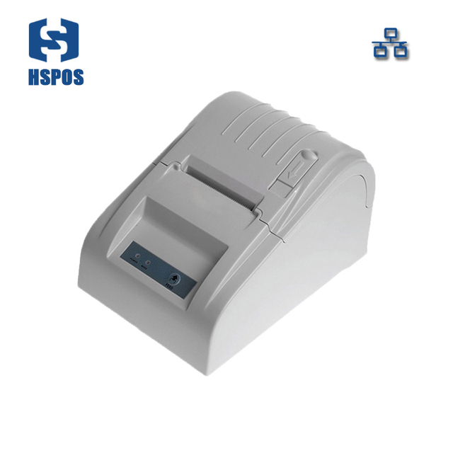 rj45 pos thermal receipt printer 58mm 589tl lan port bill printing machine for supermarket quality slip