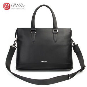 """Image 3 - Сумка для ноутбука, чехол для Macbook Asus Dell 12 """"13"""" 14 """", роскошный подлинный мужской портфель, Высококачественная Сумочка, компьютерные сумки, сумка для ноутбука"""