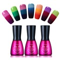 Beau Gel Mood Temperature Color Change UV Gel Polish Varnish Nail Vernis Semi Permanent Polish Chameleon Gradient Gel Gelpolish