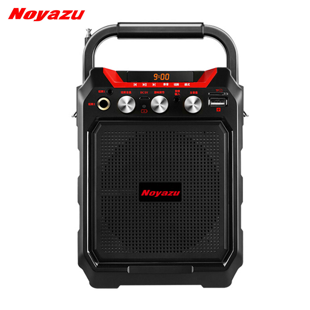 Noyazu K99 Wireless Portable Bluetooth Speaker Wireless Speaker Sound System 3D Stereo Music Support AUX FM TF card paly outdoor portable bluetooth speaker wireless waterproof bass loud speaker 3d hifi stereo subwoofer support tf card fm radio