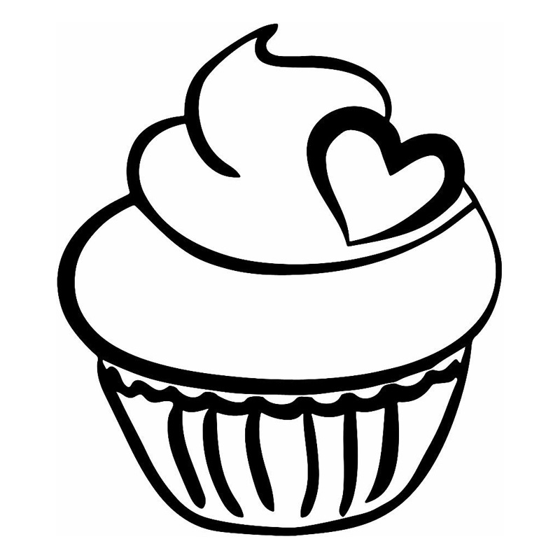 13 215 2cm cute cupcake loving car sticker cartoon motorcycle loaded vinyl decals black silver c7 1750 in car stickers from automobiles motorcycles on