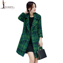 Winter Jacket Women 2018 Long section Autumn Woolen Coat In