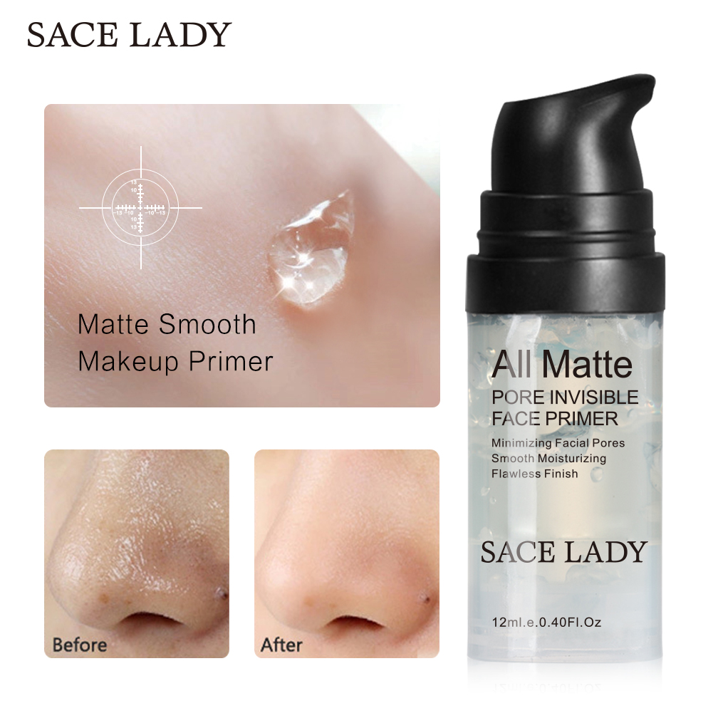 6/12/30ML Oil-control Makeup Gel Cosmetic Matte Smooth Makeup Primer Face Base Primer Pore Invisible Facial Foundation
