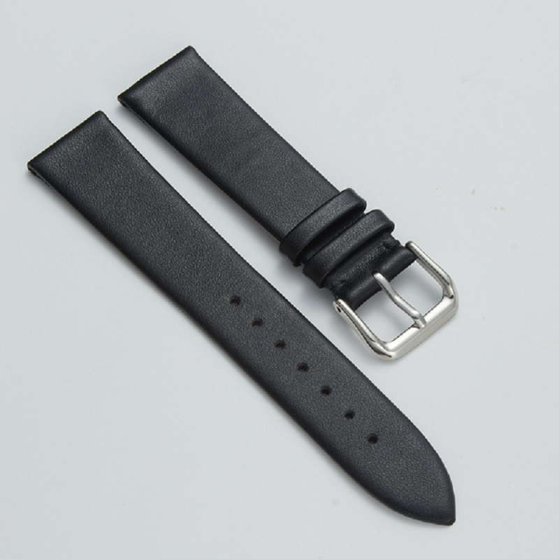Watches Accessories Soft Watch Belt Watch Strap 20mm 22mm Breathable Watchbands Buckle Band PU Leather Black Brown цена