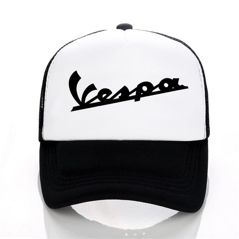 Vespa Moto   Baseball     cap   Men Women Summer Visor letter Fashion summer Trucker   Cap