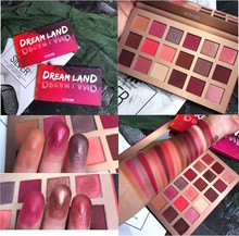 18 Colors Eyeshadow Palette Glitter Shimmer Matte Maquiagem Smoky Balm Nude Eyeshadow Pallete Makeup Eye Shadow Palette Brushes цена и фото
