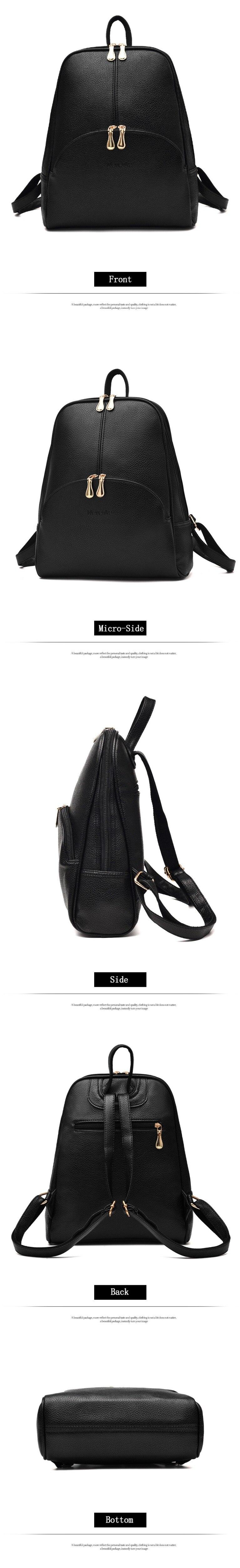 HTB1yKXIaZvrK1Rjy0Feq6ATmVXaz Nevenka Mini Backpack Women Light Weight Daypacks Girls Fashion Backpacks Ladies Leather School Bag Female Gray Backpack Black