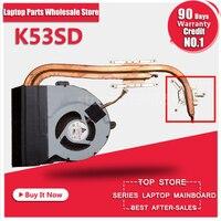 New Genuine For ASUS K53S X53S X53 K53SD 13N0 KDA0201 13GN3G1AM020 KSB06105HB AL10 Heatsink Cooling Fan