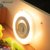Newest LED Night Light LED Emergency Lamp With Light Controlled Sensor Nightlight For Kids Yellow White