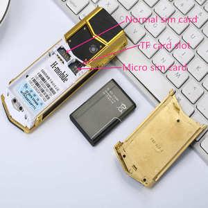 """Image 5 - Nga Bàn Phím Nút Kim Loại Sang Trọng + Tặng Bao Da Nhà Ở Gốc Trung Quốc Năm 1.8 """"Màn Hình GSM Dual Sim Kiêm Bluetooth Di Động điện Thoại"""