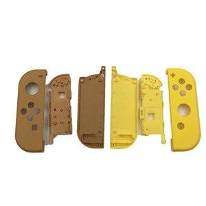 Image 3 - Limited Groen Geel Plastic Back Case Cover Rear Panel Frame Voor Nintendo Switch Console & Vreugde Behuizing Case