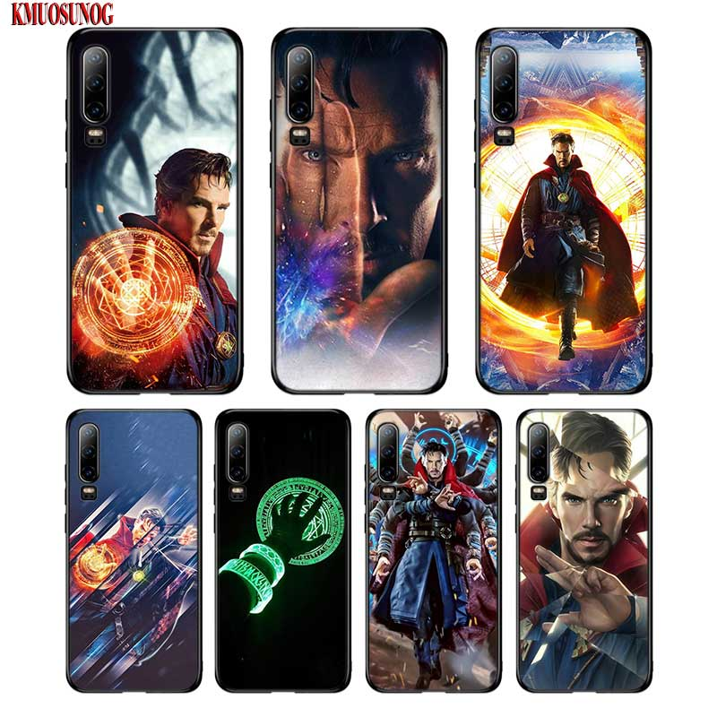Black Silicon Phone Case Avengers Doctor Strange For Huawei P8 P9 P10 P20 P30 Pro Lite P Smart Plus Y6 Y7 Y9 2019 2017 To Win A High Admiration And Is Widely Trusted At Home And Abroad. Fitted Cases