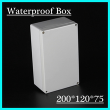 1Set 200x120x75mm Waterproof Enclosure Case Electronic Junction Project Box Newest