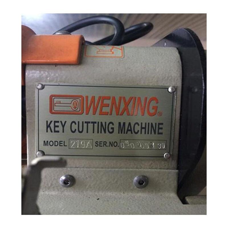 wenxing 219A macchina per fabbricare le chiavi 40w. Duplicatrice - Utensili manuali - Fotografia 3