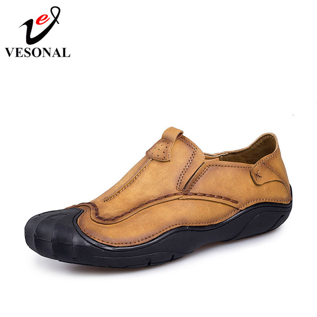 Casual Men Loafers Adult Footwear Soft Driving Microfiber Leather Man Mocassin Shoes