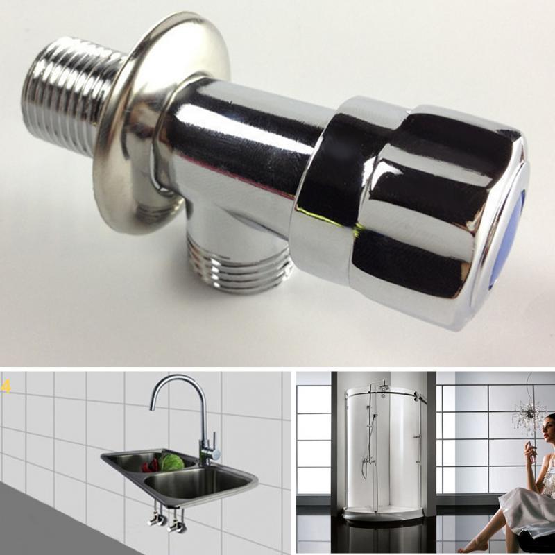 Kitchen Bathroom Valve Home Pipe Triangular Universal Threaded ...