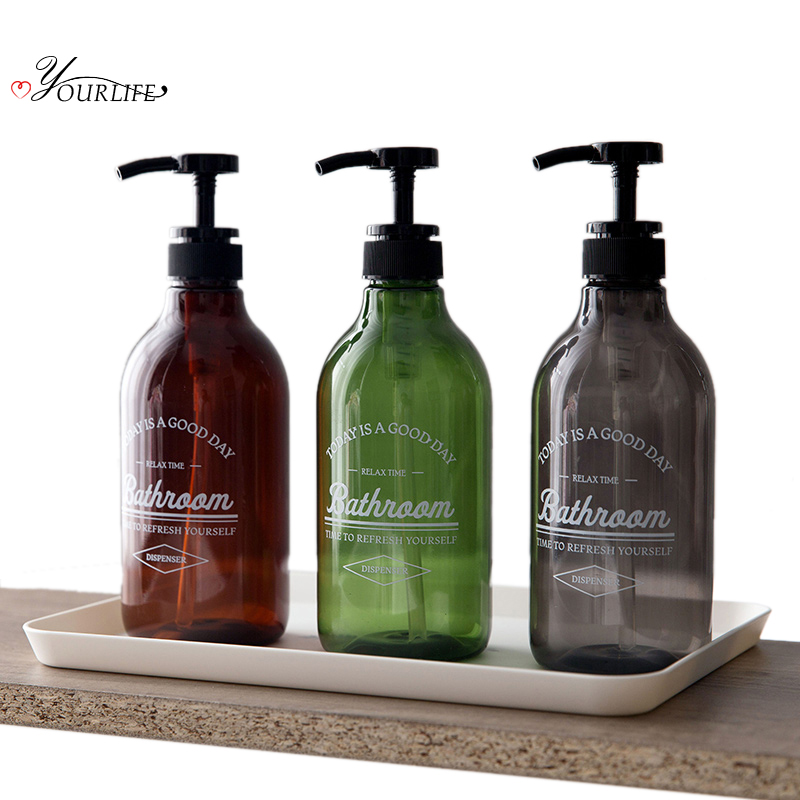 OYOURLIFE 600ml Seife Dispenser Kosmetik Flaschen Bad Hand Sanitizer Shampoo Körper Waschen Lotion Flasche Im Freien Reise Flasche