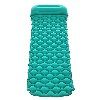 Sofa Cushions Foam | Inflatable Sleeping Pad Camping Mat With Pillow Air Mattress Cushion Sleeping Bag Sofa Beach Mattress Camping Equipment