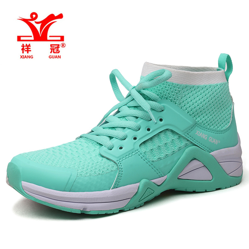 XIANG GUAN women sneakers 2017 green sport running shoes rhythm zapatillas deportivas mujer outdoor athletic shoe sport shoes 2017brand sport mesh men running shoes athletic sneakers air breath increased within zapatillas deportivas trainers couple shoes