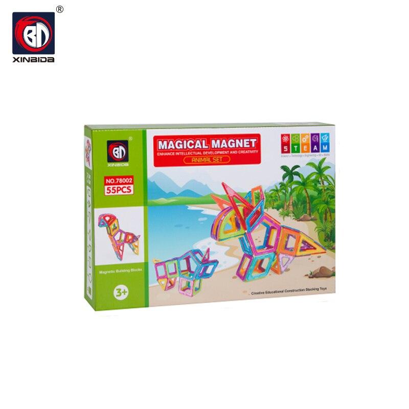 BD jouets enfants chine Playmager blocs avec aimant fort blocs magnétiques carreaux pour enfants blocs colorés jouet de construction