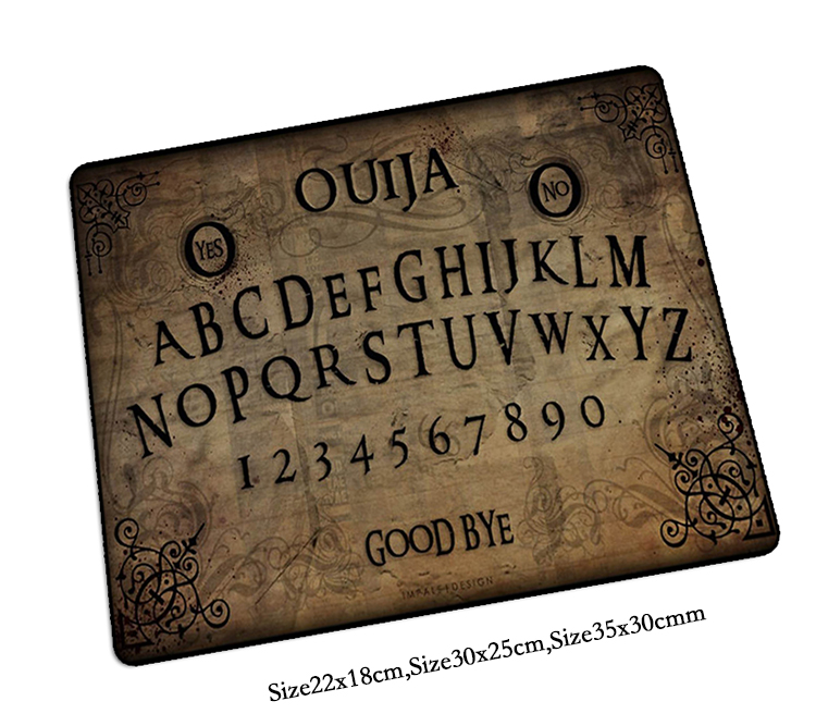 ouija board mouse pad HD pattern pad to mouse notbook computer mousepad cool gaming padmouse gamer to laptop keyboard mouse mats
