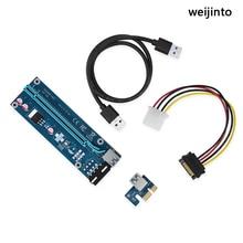 WEIJINTO 10-30pcs PCI-E PCI Express Riser Card cab
